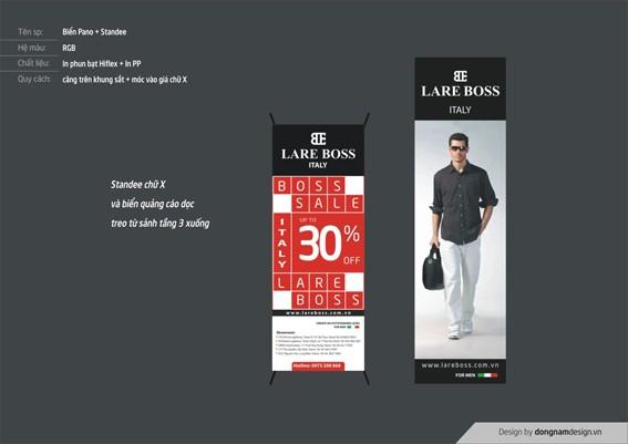 thiết kế standee, biển quảng cáo