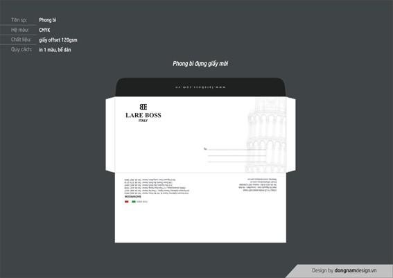 Thiết kế phong bì đựng thư mời